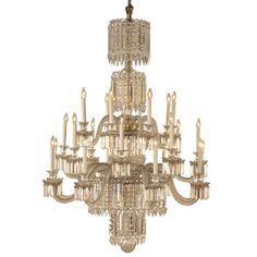 Grand 19 C Baccarat Crystal Chandelier