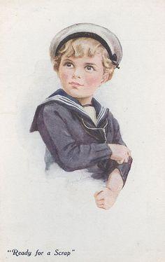 Mi papá tenía una foto vestido de marinerito... (había nacido en 1915)