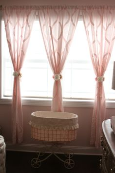 Fun girl curtain ide
