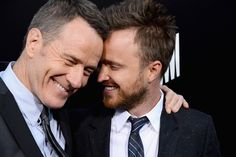 """He just really loves Breaking Bad and Bryan Cranston and we love Aaron Paul. 