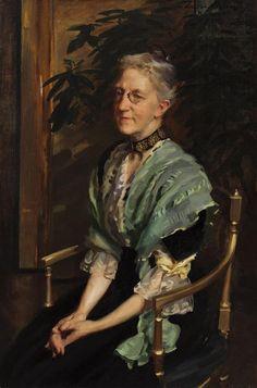 Portrait of Helen Bigelow Merriman by Cecilia Beaux (American 1855-1942)