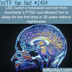 LSD cured a holocaust survivor - WTF fun facts