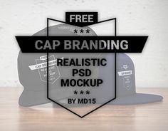 Vedi questo progetto @Behance: \u201cCap Branding - Free PSD Mockup - UPDATE\u201d https://www.behance.net/gallery/34596029/Cap-Branding-Free-PSD-Mockup-UPDATE