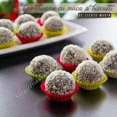 Candy with nuts and crackers recipes - Social Cooking Engine Romanian Desserts, Romanian Food, Romanian Recipes, Cake Recipes, Dessert Recipes, Christmas Deserts, Christmas Cookies, Sweet Desserts, Biscotti
