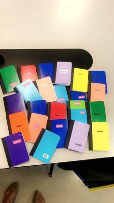 Student and teacher conversation books