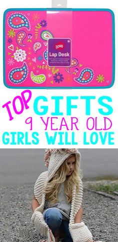 Here are the BEST gift for a 9 year old girl! Are you shopping for the a girls birthday, Christmas, Holiday or just because? Have no idea what to get that special girl – here are the top gift ideas for 9 year old girls! Girls 9th Birthday, Birthday Presents For Girls, Top Gifts For Girls, Girl Gifts, 9 Year Old Christmas Gifts, Christmas 2019, 9 Year Old Girl, Non Toy Gifts, Special Girl