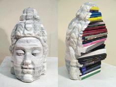 Exposition étonnante de livres à l'Halsey Institute of Contemporary Art