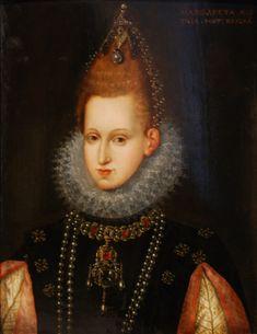 Portrait of Margaret of Austria, Queen of Spain (1599-1611) by Joseph Heintz the Elder. Datebetween 1598 and 1599
