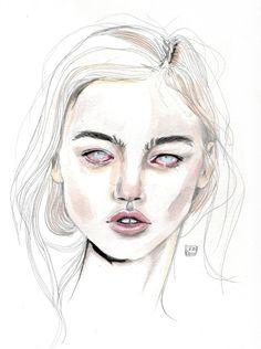 lucasbavid:Sasha pivovarova by Lucas David