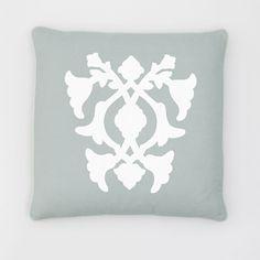 "Barbara Barry Poetical Decorative Pillow, 18"" x 18"""