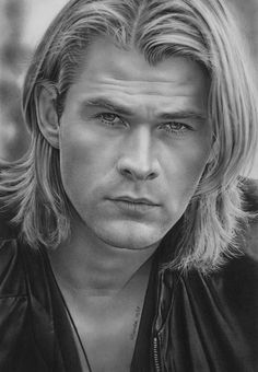 chris hemsworth drawing - Google Search