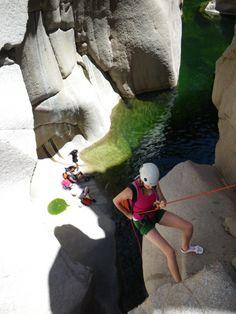 Salome Canyon Canyoneering