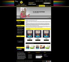 Maquette site comalouest.fr - creer un site internet pour service communication
