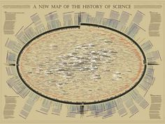 Science infographic and charts Visualization of the History of Science Go to site to zoom in. Infographic Description Visualization of the History of Visualization Tools, Information Visualization, Life Science, Science Nature, Book Wraps, Digital Textbooks, Physical Science, Cartography, Science And Technology