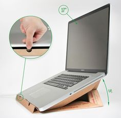 10 Cheap & Easy DIY Laptop Stands