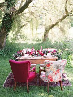 Intimate Dining & whimsy