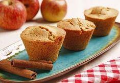Muffin de maçã e canela sem glúten