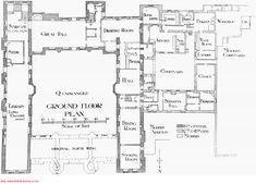British Architecture, Historical Architecture, Architecture Plan, Castle Floor Plan, House Floor Plans, Museum Studies, Architectural Floor Plans, Sutton Place, Villa
