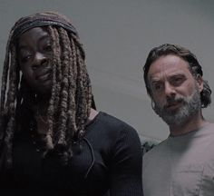 """delightfulzombe: """"King and queen telling negan how it's gonna be #richonne """""""