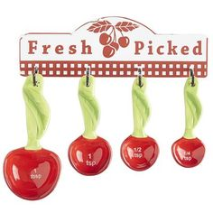 Cherry Measuring Spoons from Pier 1 #Cherries