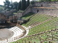 the theatre, Pompeii, Italy---been here--LOVED IT!!! Gorgeous place to explore! :D