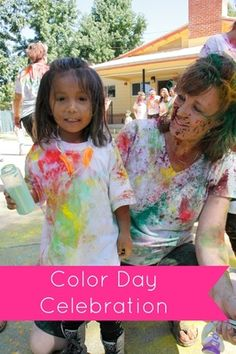 Bringing in the new school year with a fun filled day of color fun.