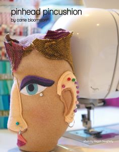 pin head pincushion by carrie bloomston