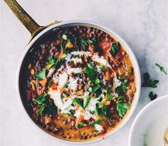 6. Lentil Chili With Pumpkin and other awesome pumpkin recipes!
