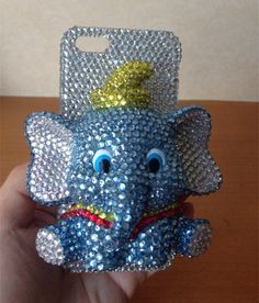 3D Dumbo Crystal Bling iPhone 6 Case