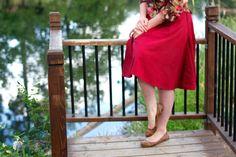 Accordion To Kellie | scarlet linen