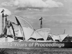A historical event: The Construction of Sydney Opera House