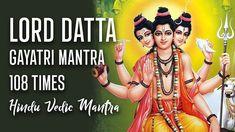 Lord Datta Gayatri Mantra 108 Times | Dattatreya Gayatri Mantra | Powerf... Vedic Mantras, Hindu Mantras, Gayatri Mantra 108, Lord, Wonder Woman, Times, Superhero, Wonder Women