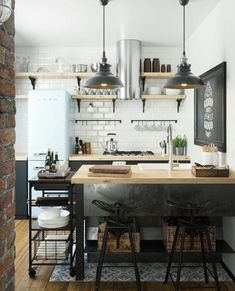 Kitchen Inspiration | Kallinterior - Pursue your dreams of the perfect Scandinavian style home with these inspiring Nordic apartment designs.
