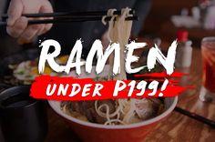 Read: 5 Best Ramen in Metro Manila Under P199!
