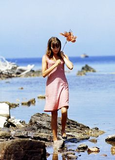 #TopshopPromQueen This still is from Pierrot Le Fou, a 1965 French New Wave film. This film inspired many other beautiful films, including Amelie and Moonrise Kingdom. The wardrobe in Pierrot Le Fou is very representative of my favorite 60's fashion. The atmosphere is also very alluring.