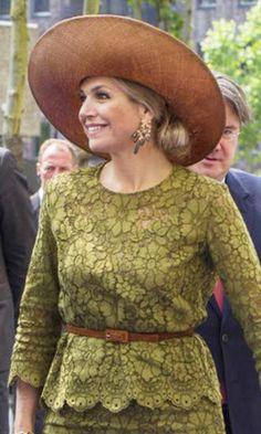 Queen Máxima, June 2, 2016 in Fabienne Delvigne | Royal Hats