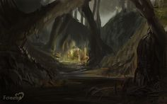 Concept art for the Dreglands environment, a dingy place at best. Heart Projects, Environment Concept, High Fantasy, Concept Art, Gaming, World, Places, Painting, Inspiration