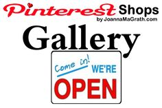 Pinterest Shops Gallery ...CLICK HERE... View and SHOP All The Pinterest Shops Gallery of Pins.