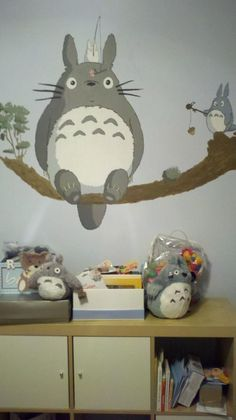 Ghibli Nursery - am so doing this for my future kids!