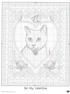 224 beste afbeeldingen van Cats Cross Stitch in 2016