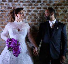 Noivas Reais  Querida Fernanda  😍👏🏻👏🏻👏🏻 By @EstilistaGio @nova_noiva  #casamento #noivasreais #bride #vestidodenoiva 