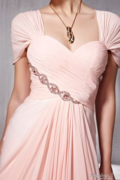 New Pink Cocktail Prom chiffon Straps Draped Formal Long Evening Dress - Merpher.L