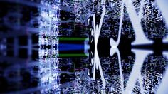 4K stock footage - http://www.alunablue.com - royalty free 4K stock video for broadcast, corporate promotions, video projection and all new media productions.   Total Chaos 005: Traveling down a digital data tunnel of chaotic numbers and letters (Loop).   A Luna Blue Stock Video.  Imagery for Your Imagination.