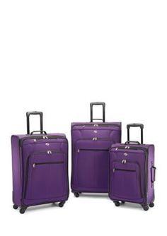 American Tourister  POP Plus 3-Piece Set - Purple