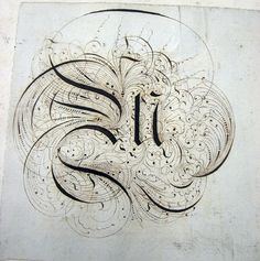 Beautiful Handwriting, Lettering and Calligraphy - editorial from Smashing Magazine     Lettering and Handwriting - 1800s Lettering Sketchbook:Journal 14.jpg