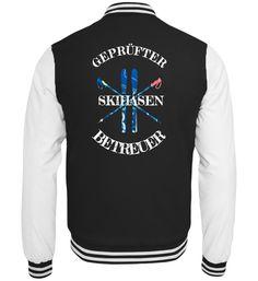 SKIHASENBETREUER Skifahrer Skifahren Skipiste Apres SKi Pistenqueen T-Shirt Geschenk T-Shirt Retro, Jackets, Fashion, Skiers, Modern Sectional, Gift, Gowns, Down Jackets, Moda