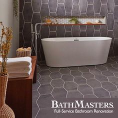 Floor and wall tiles? Don't mind if we do! Get it at BathMasters.