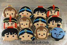 Aladdin Tsum Tsum cookies by the Cookie Loft Girls