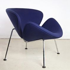 Located using retrostart.com > Orange Slice Lounge Chair by Pierre Paulin for Artifort