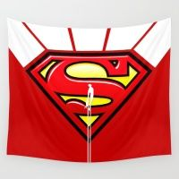 SUPERMAN Wall Tapestry